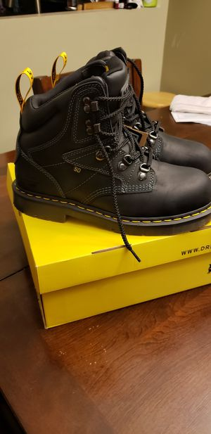 Brand New Dr. Martens Steel Toe Work Boots Size 9 men's/10 women's $100 for Sale in Downey, CA