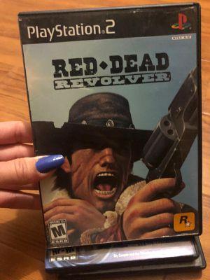 Red dead revolver ps2 for Sale in Miami, FL