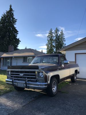 1979 Chevy C10 longbed for Sale in Puyallup, WA