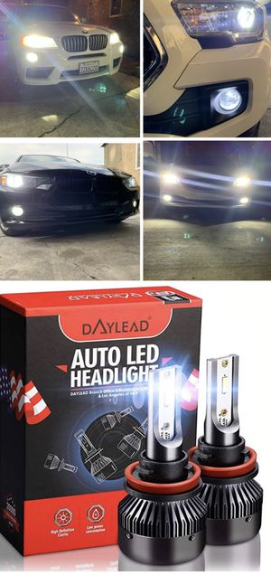 Led headlights or foglights 25$ free license plate LEDs with purchase for Sale in Los Angeles, CA