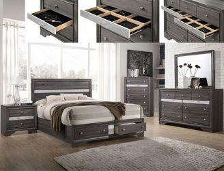 NEW IN THE BOX.BEDROOM SET: QUEEN BED +DRESSER+NIGHTSTAND SKU#TCB5640-SET for Sale in Westminster,  CA
