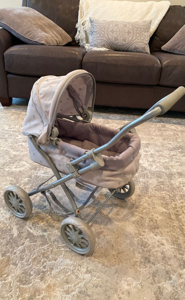 Pottery barn kids doll stroller pram