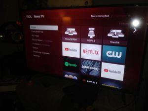 TCL Roku tv 40 in for Sale in The Bronx, NY