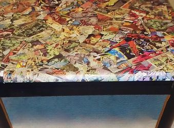 DC Comics Collaged Coffee / End Table for Sale in Surprise,  AZ
