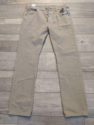 Men's Levi's 501 34x34 Tan Jeans for Sale in Atlanta, GA