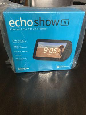 Amazon echo show 5 for Sale in Denton, TX