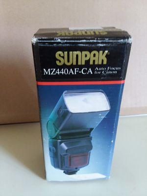 Flash for Camera Canon Sunpak MZ440AF-CA for Sale in Adelphi, MD