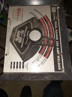 Sears craftsman 230amp 220v arc welder. Gets it done$100 for Sale in Livingston, CA