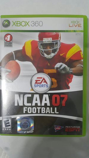 NCAA 07 FOOTBALL FOR XBOX 360 for Sale in Miami Gardens, FL