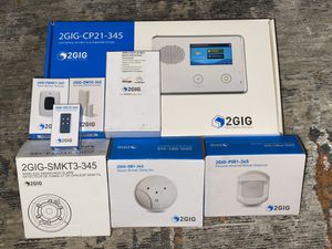 2 Gig home security system with all wireless Verizon conection for Sale in Westminster, CA