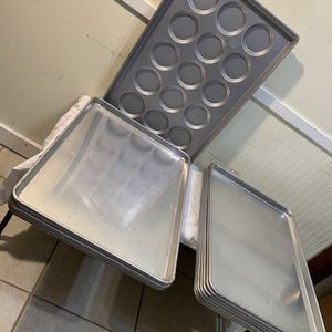 Commercial Backing Trays (Plz Make A Reasonable Offer) for Sale in Gaithersburg, MD