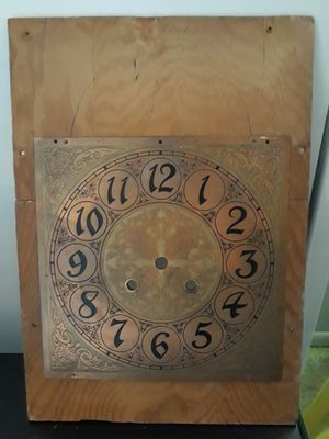 Old clock backing from a grandfather clock for Sale in Tampa, FL