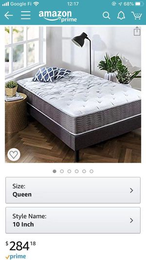 Almost new queen size mattress for Sale in Foster City, CA