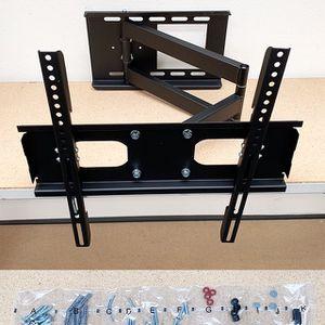 "(NEW) $30 Full Motion 23""-50"" TV Wall Mount Bracket 180 Degree Swivel Tilt, Max load 100Lbs for Sale in South El Monte, CA"