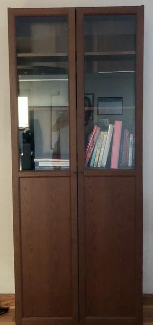 2 bookshelves/ display case for Sale in Mercer Island, WA
