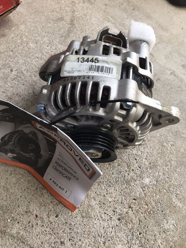 For sale brand new alternator for a 2002 mazda 626