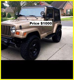 ֆ1OOO Jeep Wrangler for Sale in Suisun City, CA