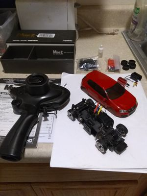 Kyosho Mini Z MA-020 AWD Sport RC Car Chassis Set and KT-18 Perfex Reciever LOADED w/ extras for Sale in Tempe, AZ