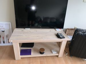 IKEA wooden coffee table for Sale in Roswell, GA