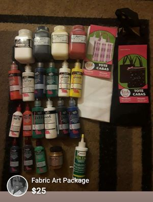 Craft Supplies Fabric Art Package for Sale in Hyattsville, MD
