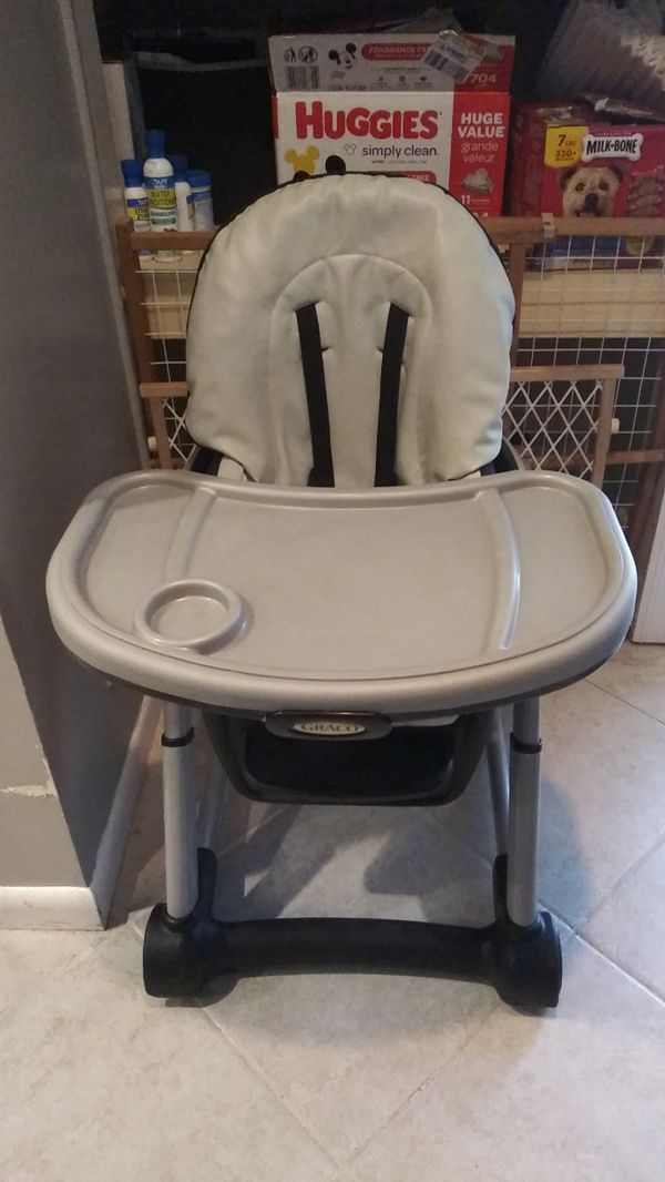 Graco 4 in 1 high chair value 180