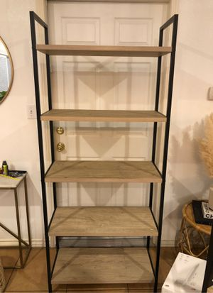 Book shelf ladder bookcase for Sale in Montebello, CA