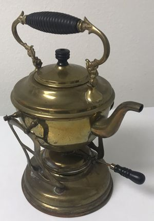Antique 1896 tilting tea pot complete as pictured for Sale in Bradenton, FL