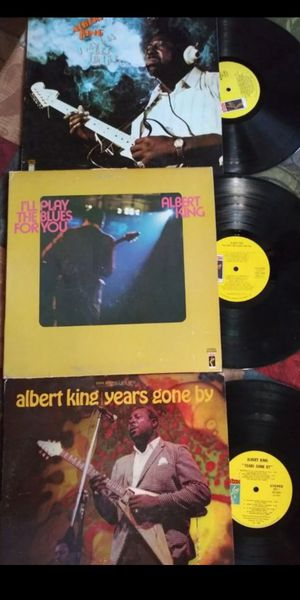 ALBERT KING 3 MEGA RARE LP VINYL ALBUM'S for Sale in San Bernardino, CA