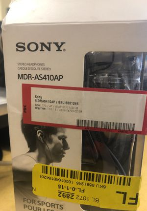 SONY STEREO HEADPHONE MDR-AS410AP for Sale in Riverdale, GA