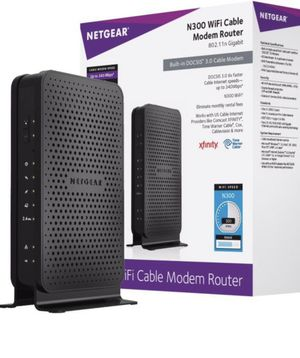 Modem Router N300 WiFi Cable for Sale in Miami Beach, FL