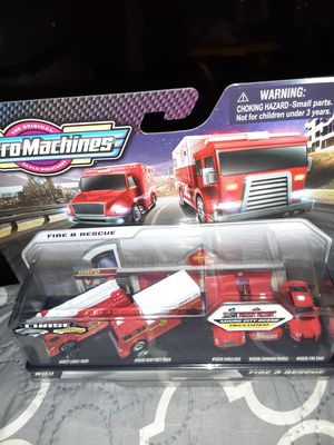 MICRO MACHINES FIRE & RESCUE CHASE SET for Sale in Waynesboro, PA