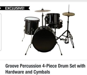 Groove Percussion Drum Set for Sale in Miami, FL