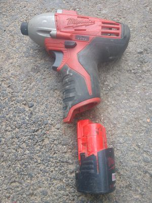 1/2 Milwaukee drill no charger for Sale in Pickerington, OH