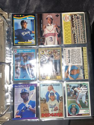 Baseball Cards, ranging from 60's-00's (Some good rookie cards!!) for Sale in Tukwila, WA