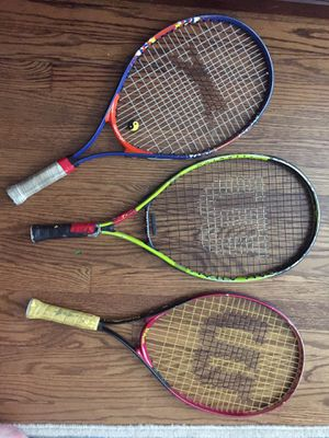 Tennis rackets for Sale in Glenview, IL