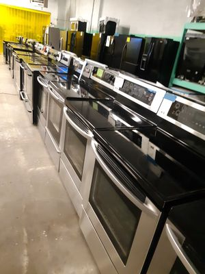 $199.00 & UP STAINLESS STEEL ELECTRIC STOVES IN EXCELLENT CONDITION WORKING PERFECTLY for Sale in Baltimore, MD