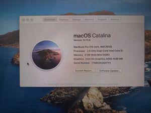 "Macbook pro 13"" mid 2012 for Sale in Orlando, FL"