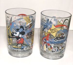 "Set of 2 Walt Disney World ""100 years of Magic"" Spain Vintage Souvenir for Sale in Miami, FL"