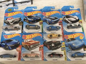 Hot wheels $2 ea Batman Nissan vw Volkswagen Chevy Porsche Lamborghini for Sale in Colton, CA