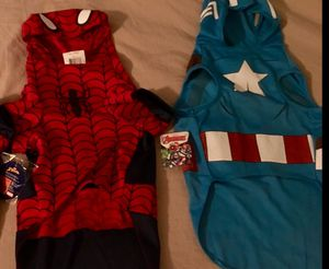 HALLOWEEN COSTUMES FOR FIDO (size L) for Sale in Portsmouth, VA