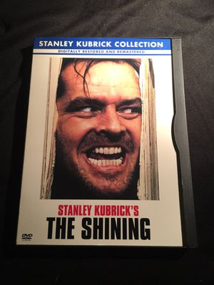 The Shining Jack Nicholson Shelley Duvall DVD COLOR DOLBY DIGITAL GREAT CONDITION NO SCRATCHES for Sale in La Habra, CA