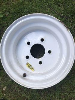 Trailer tire rim for Sale in Ballston Spa,  NY