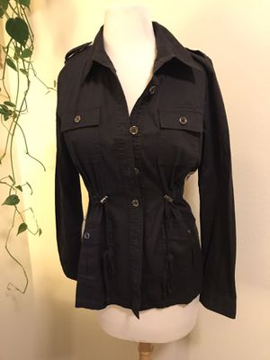 Black jacket w/ design for Sale in Bothell, WA