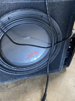"""Alpine 12"""" Type r With Alpine 500w Amp for Sale in Fremont,  CA"""