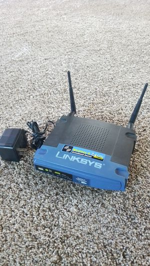 Linksys 2.4 GHz Wireless Broadband Router for Sale in San Diego, CA