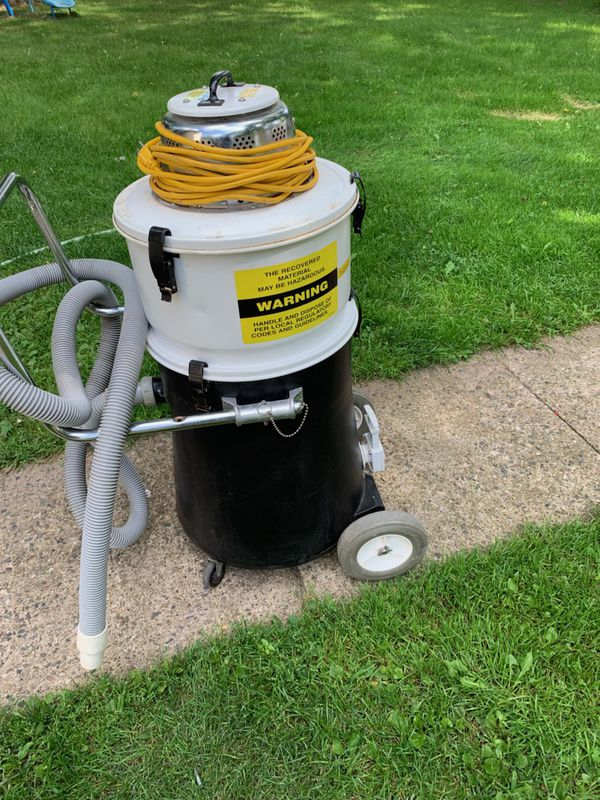 Commercial work drive vacuum