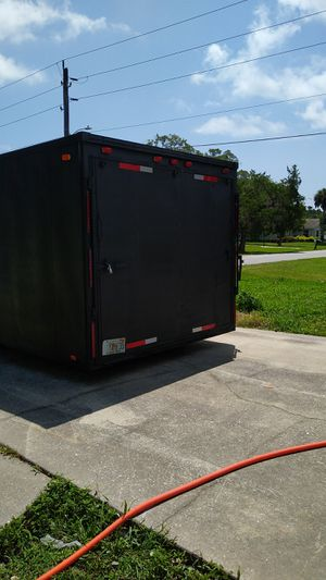 28' enclosed trailer ready for work for Sale in St. Cloud, FL