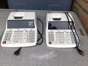 2 Financial 12 digit ProfessionalCalculators w/clock&calendar for Sale in Raleigh, NC
