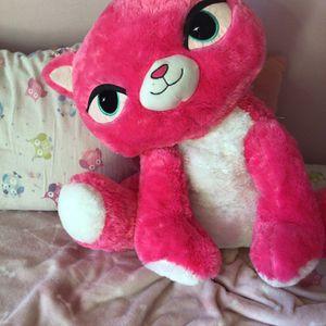 JUMBO pink cat plushy! 🐱🌸 for Sale in Winfield, IL