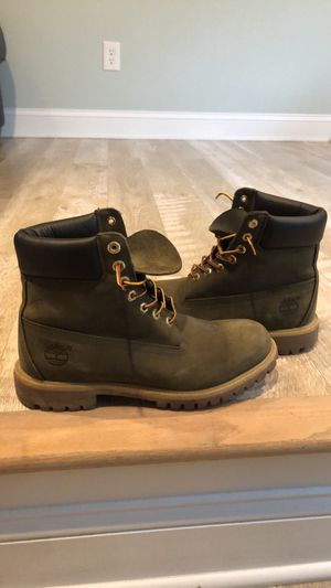 TIMBERLAND Military Green boots size 9 for Sale in Virginia Beach, VA